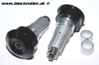 """Montage Kit für Lenkerendenspiegel ohne Lenkerendengewichte, """"DOT"""" für Vespa GTS/GTS Super/GTV/GT 60/GT passt auch für Vespa ET/LX/LXV/S/Primavera"""