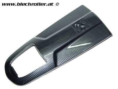 Kaskade für Vespa GTS Super/Super Sport 125/300ccm - Carbon-Look glänzend