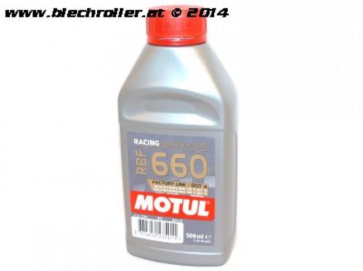 Bremsflüssigkeit MOTUL RBF660 DOT 4 - 500 ml