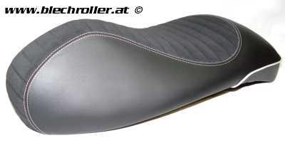 Sportsitzbank PIAGGIO für Vespa GTS/GTS Super 125-300ccm ('14-) - Schwarz