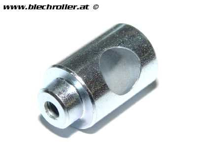 Distanzbuchse Flyscreen Chrom, PIAGGIO für Vespa LXV/GTS Super/GTV 50-300ccm