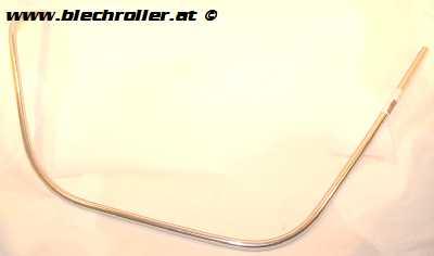 Monoschlitzrohr Beinschild PIAGGIO für Vespa GTS/GTS Super/GTV/GT 60/GT/GT L 125-300ccm - LINKS