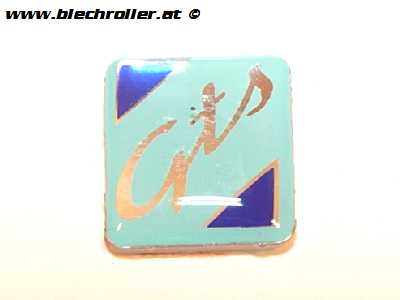 "Emblem ""GTS"" Kotflügelnippel für Vespa GTS 125-300ccm"