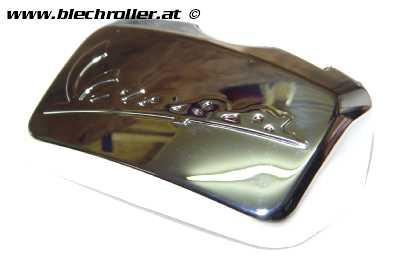 Abdeckung Schraube Gepäckträger/Haltebügel - Chrom, hinten PIAGGIO für Vespa LX/LXV/S/GTS/GTS Super/GTV/GT 60 50-300ccm