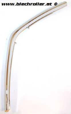 Monoschlitzrohr Beinschild PIAGGIO für Vespa Primavera/Sprint 50-150ccm - RECHTS