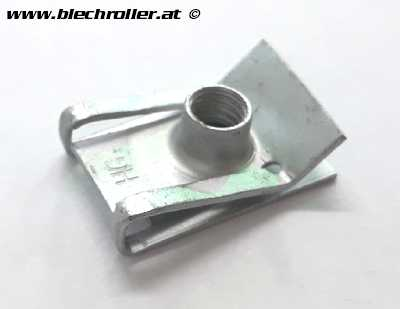 Blechmutter M6 mm, Zylinderhaube für PIAGGIO Leader, 125-150ccm 4T AC