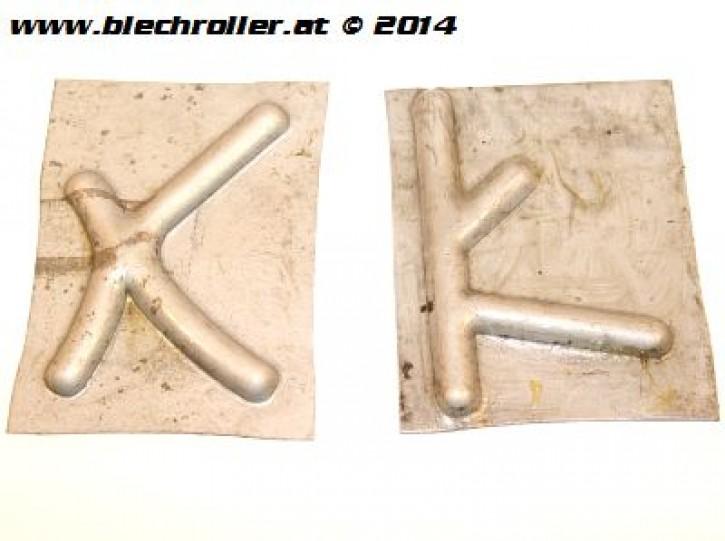 Reparaturblech Verstärkung Trittbrett für Vespa V50 /125 PV/ET3