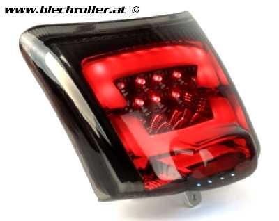 Rücklicht MOTO NOSTRA LED für Vespa GTS 125-300, GTV (ab Bj. 2014) - Schwarz