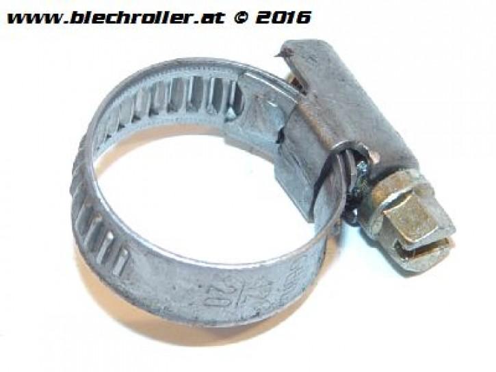 Schlauchschelle mit Schneckenantrieb: 12-20 mm