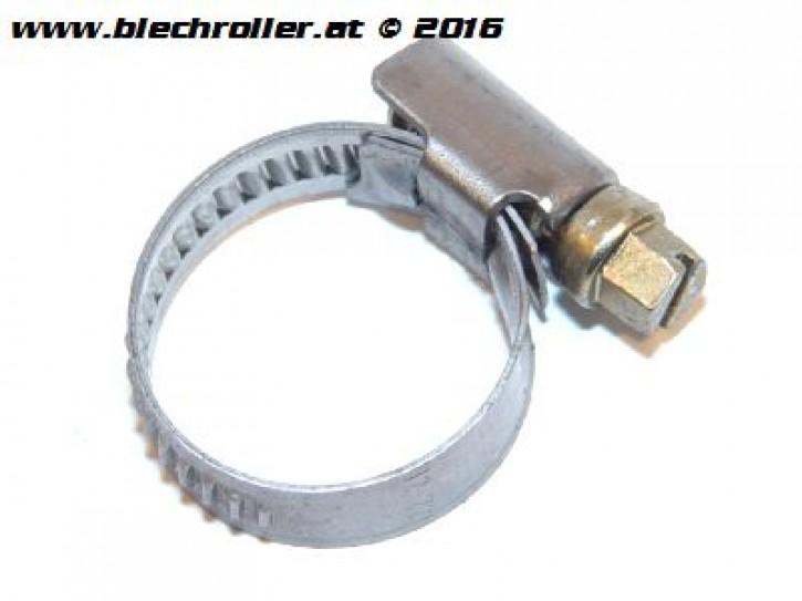 Schlauchschelle mit Schneckenantrieb: 16-25 mm