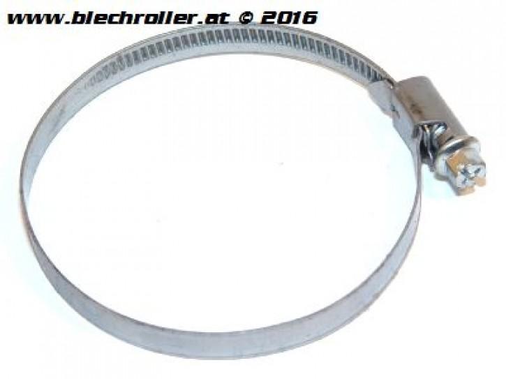 Schlauchschelle mit Schneckenantrieb: 50-70 mm