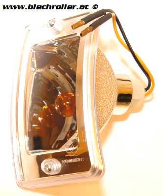 Blinker links/vorne komplett mit Gehäuse für LML Star Lite Automatik/CVT