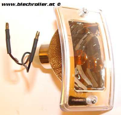 Blinker rechts/vorne komplett mit Gehäuse für LML Star Lite Automatik/CVT
