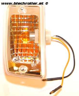 Blinker links/hinten komplett mit Gehäuse für LML Star Lite Automatik/CVT