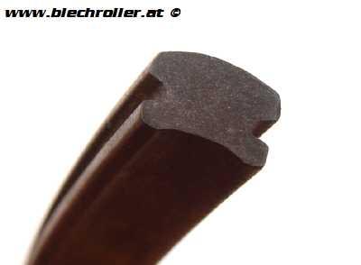 Trittleisten Gummi aussen für LML 125-200 Star Deluxe Automatik/Handschaltung