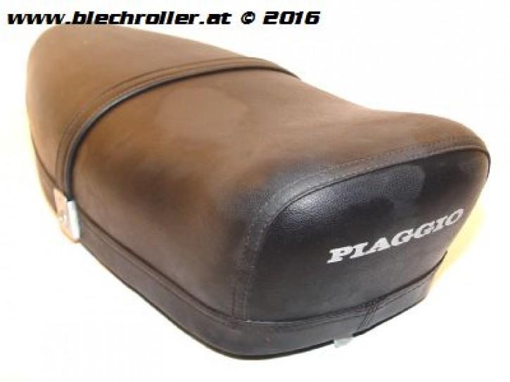Sitzbank Vespa V50/PV/ET3/Nuova mit PIAGGIO Aufdruck  - Gebraucht -