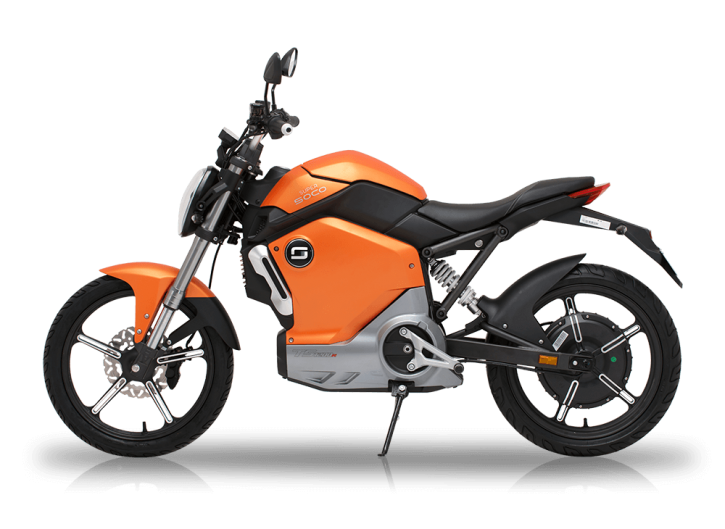 Super SOCO TS1200R, Elektro-Moped - Orange