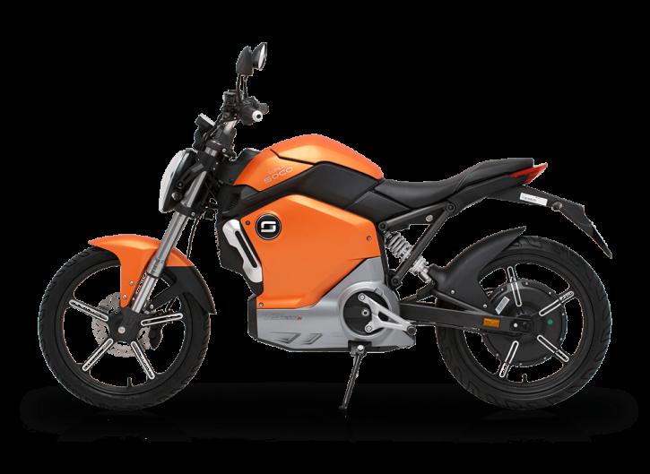 Super SOCO TS1200R, Elektro-Moped - Orange