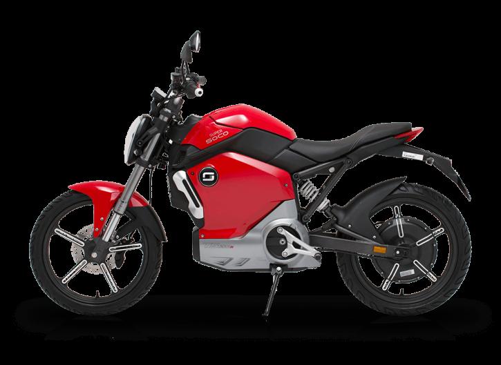 Super SOCO TS1200R, Elektro-Moped - Rot