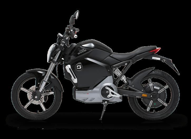 Super SOCO TS1200R, Elektro-Moped - Schwarz