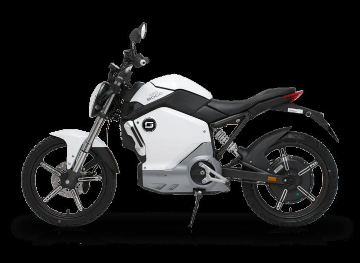 Super SOCO TS1200R, Elektro-Moped - Weiß