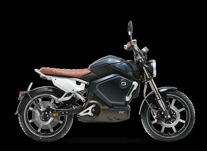 Super SOCO TC, Elektro-Moped - Neufahrzeug Blau