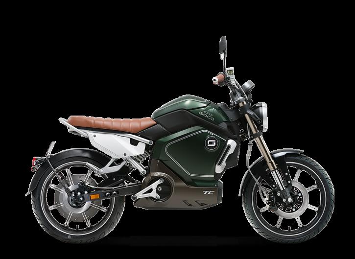 Super SOCO TC, Elektro-Moped - Neufahrzeug