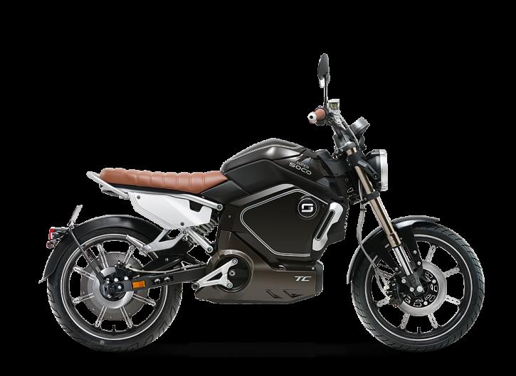 Super SOCO TC, Elektro-Moped - Neufahrzeug Schwarz