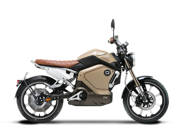 Super SOCO TC, Elektro-Moped - Neufahrzeug Beige