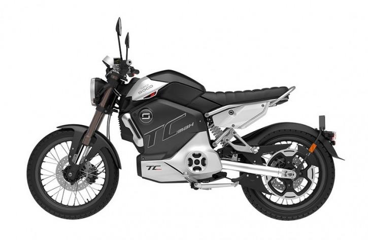 Super SOCO TCmax, Elektro-Motorrad 95 kmH - Neufahrzeug