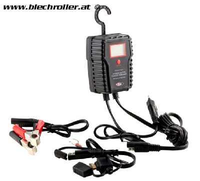 Batterie Ladegerät 6V/12V, 750mA Power Charger