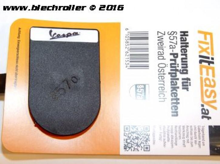 "FixitEasy §57a (Pickerl) Prüfplakettehalter ""Vespa"