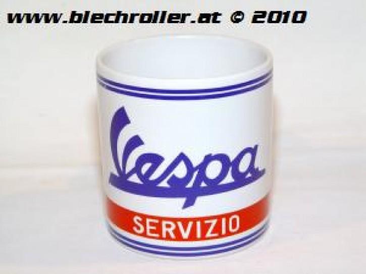 """Tasse """"VESPA Servizio"""" mit Griff"""