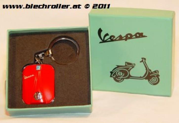"Schlüsselanhänger ""Vespa"" Beinschild, Rot"