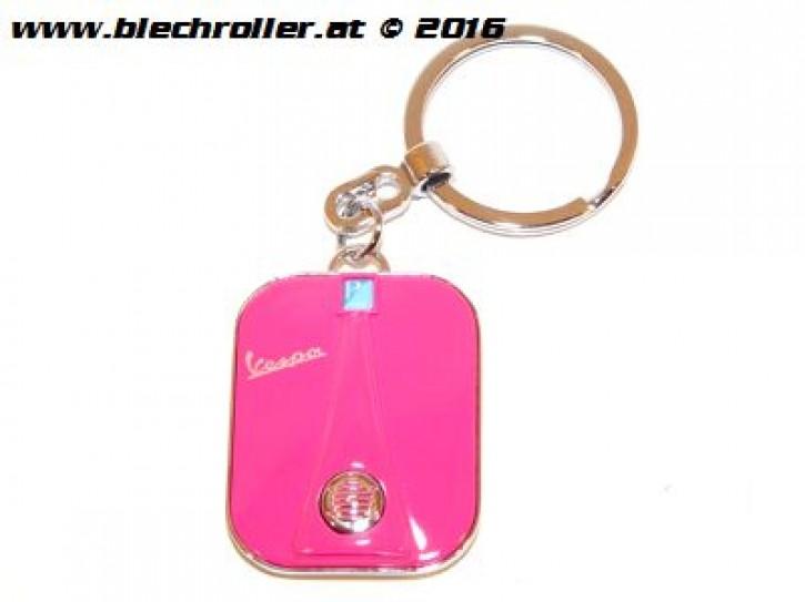 """Schlüsselanhänger """"Vespa"""" Beinschild, Pink"""
