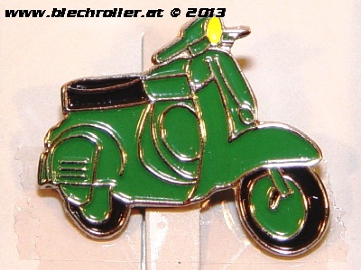 "Anstecker/Pin ""Vespa V90SS"", grün"