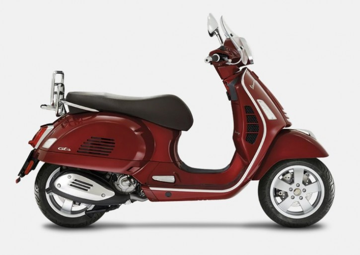 Vespa GTS 300 Touring HPE ABS/ASR - Rosso Vignola