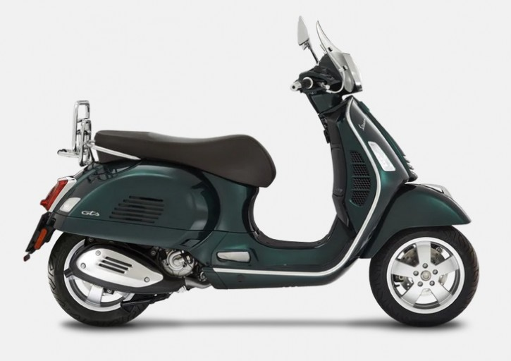 Vespa GTS 300 Touring HPE ABS/ASR - Verde Bosco