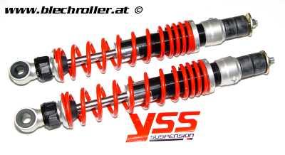 Stoßdämpfer YSS TR hinten für Vespa GTS/GTS Super/GTV/GT 60/GT/GT L 125-300ccm - Fahrwerk SPORT - komfortabel