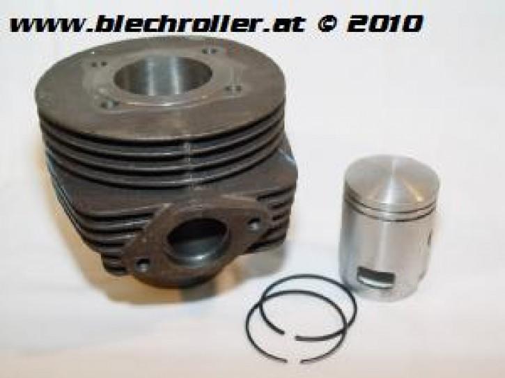 Zylinder Bajaj 150ccm Vespa Sprint/VBx, 2 Überströmer - Auspuffschraubflansch - Gebraucht -
