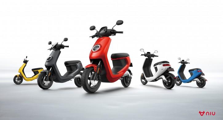 NIU M1S Pro, Elektro Roller, Neufahrzeug