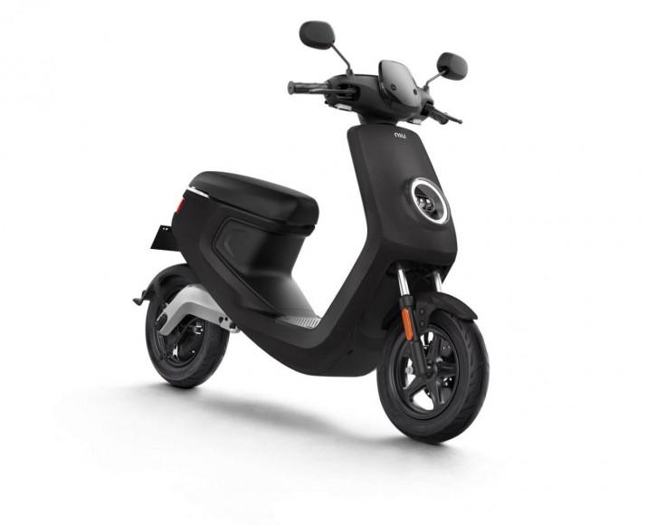 NIU M1S Pro, Elektro Roller, Neufahrzeug Schwarz