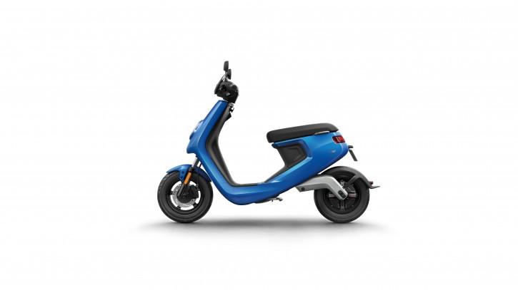 NIU M1S Pro, Elektro Roller, Neufahrzeug Blau