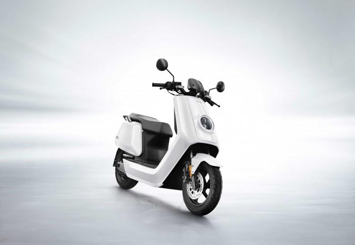 NIU N-Sport, Elektro Roller, Neufahrzeug Weiß